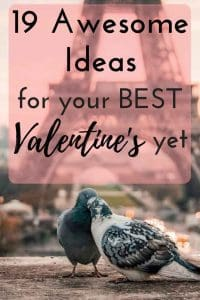 Check out this collection of 19 awesome Valentine's date night ideas for your most romantic year yet! Now is the time to romance your love and refresh your relationship with one of these epic dates.