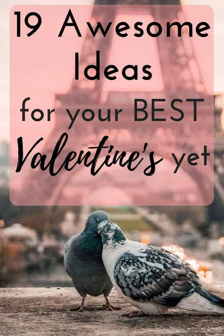 Check out this collection of 19 awesome Valentine's date night ideas for your most romantic year yet! Now is the time to romance your love and refresh your relationship with one of these epic date ideas.