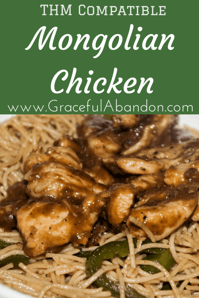 Healthy Mongolian Chicken that is THM Compatible and yet loaded with take-out deliciousness