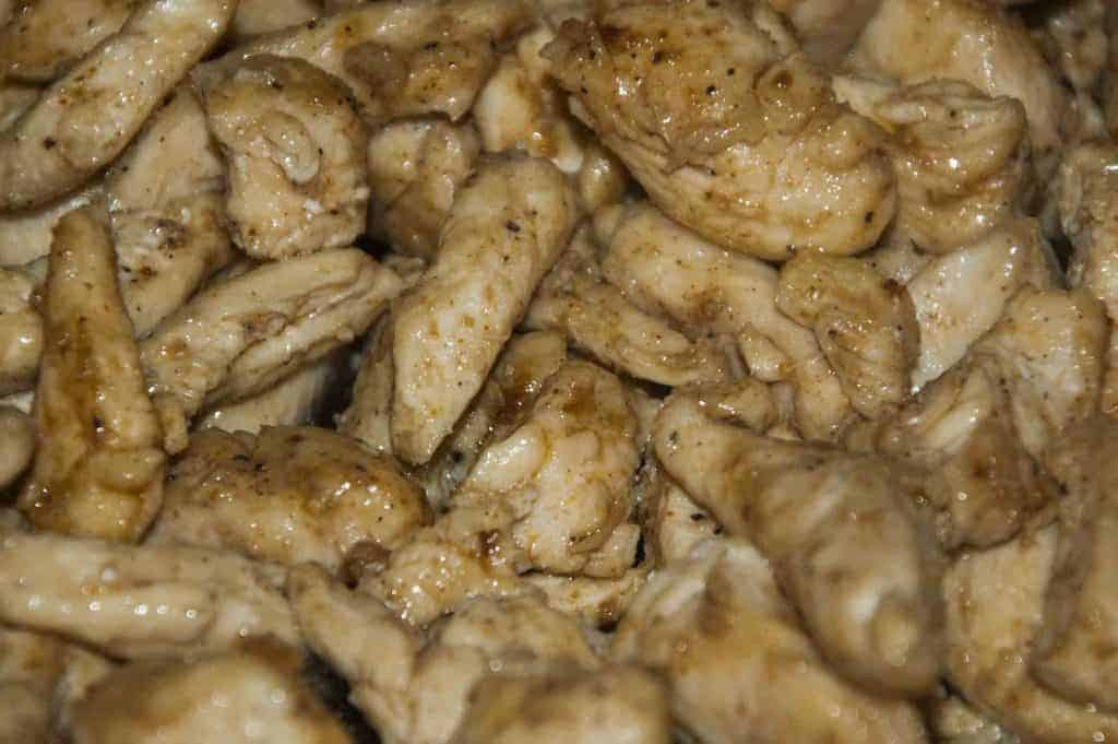 Mongolian Chicken that is easy to make, healthy, and trim healthy mama compatible