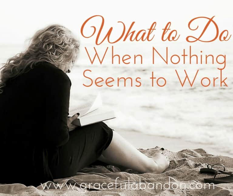 What To Do When Nothing Seems To Work: 3 Steps to Changing Your Health