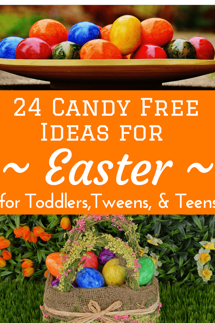 24 candy free easter egg basket ideas for all ages candy free sugar free easter easter baskets easter eggs filler ideas negle Image collections