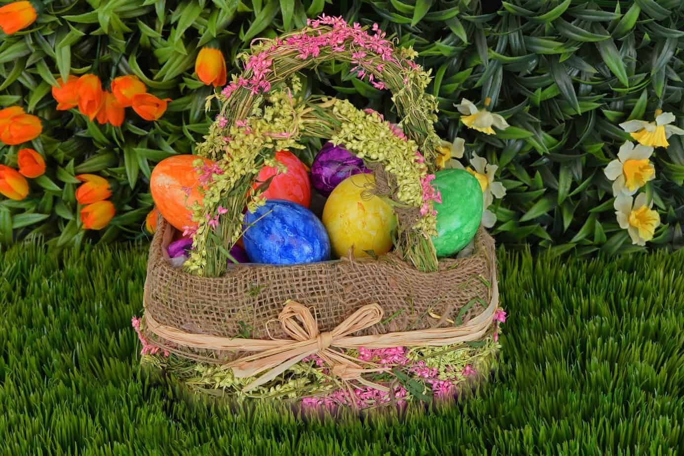 24 candy free easter egg basket ideas for all ages i have a friend who throws them often and its so much fun think of your candy free easter basket as a a mini negle Images