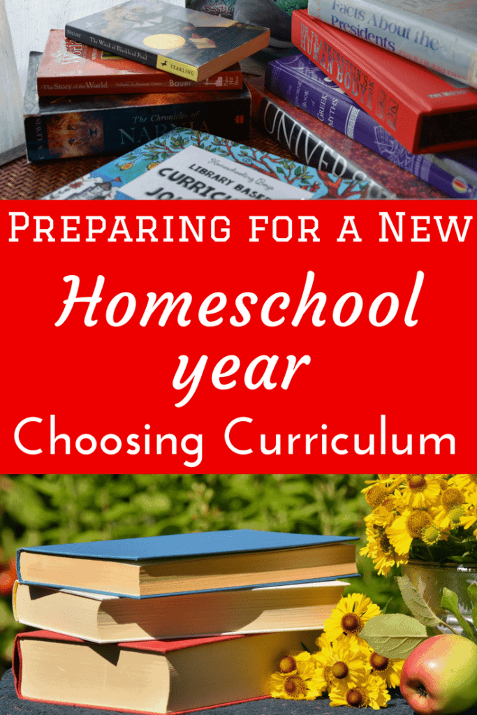 Choosing Curriculum for a New School Year doesn't have to be hard. Just look at these elements.