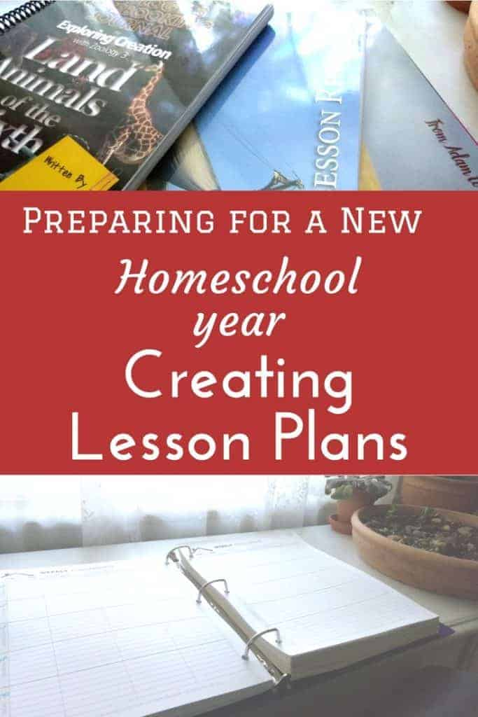Creating Lesson Plans to Help Prepare for a New Homeschool Year is not jus important; it's simple, fun, and liberating! Being an organized homeschool mom doesn't have to be a challenge.