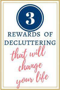rewards of decluttering checklist