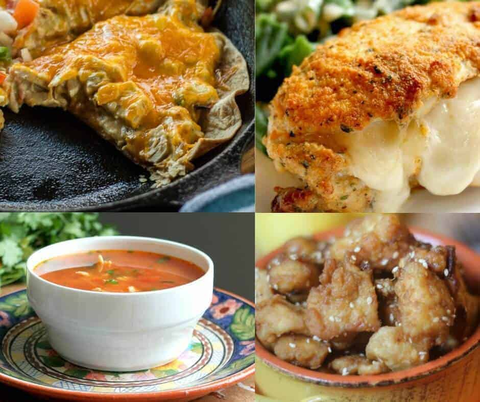 34 Healthy Chicken Recipes (all THM compatible!)