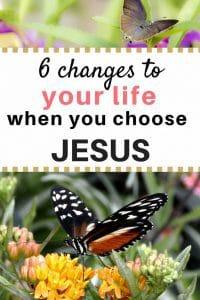 Christian lifestyle change