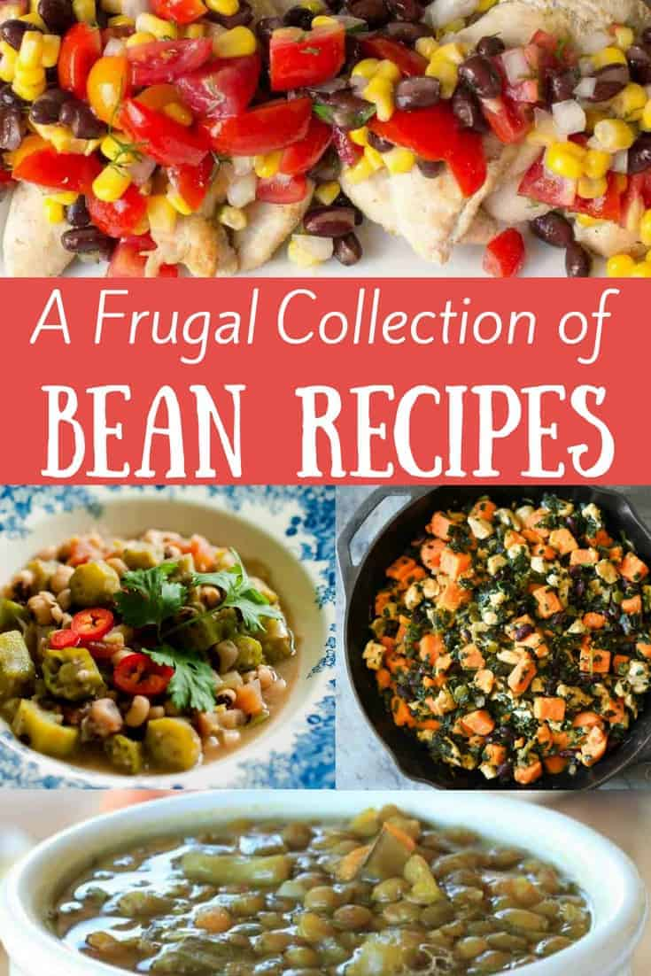A round-up of scrumptious soups, stews, side, dinners, and even desserts using beans. Frugal, healthy, wholesome treats for the whole family. THM E.