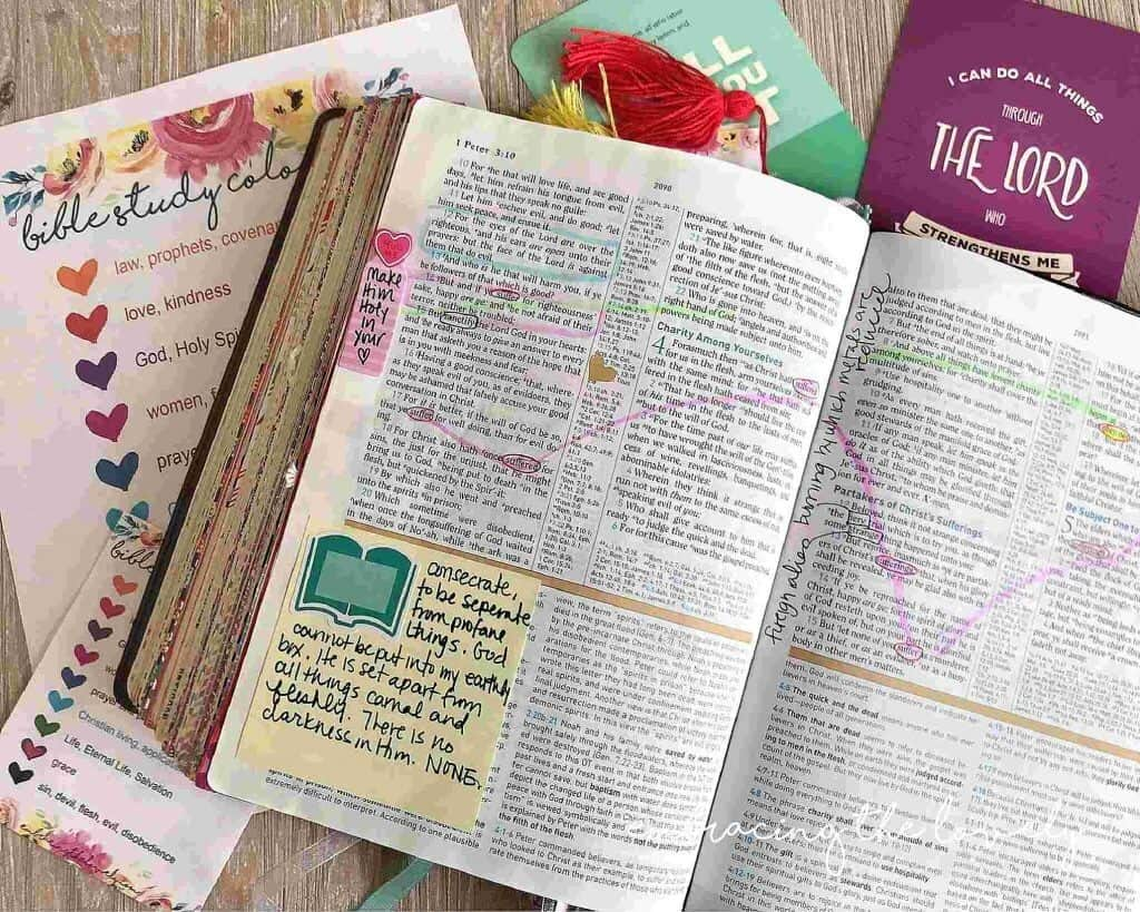 How To Start Bible Journaling For Beginners What It Is
