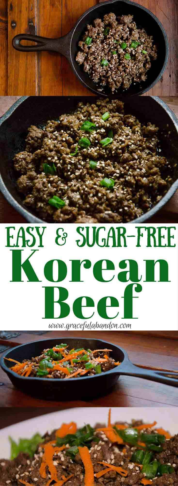 Sugar-Free, Soy-Free, Paleo Korean Beef Recipe