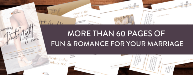 fun and romance printed date night for your marriage