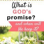 What is God's ultimate promise and when will He keep it?