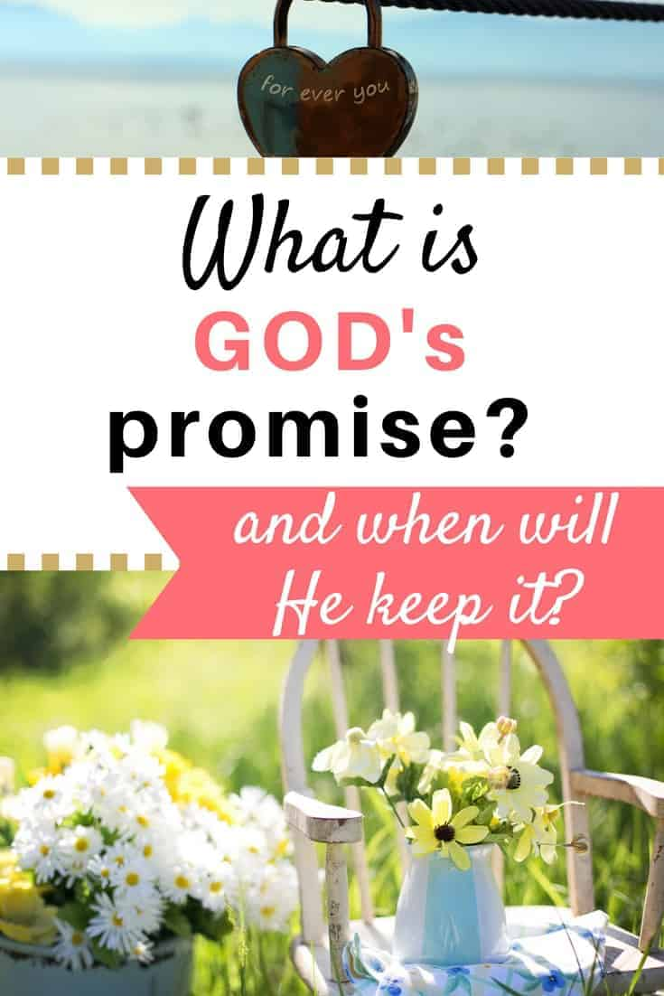 God made a promise before He created the world. What was it? When will He keep it? What does it mean for YOU?