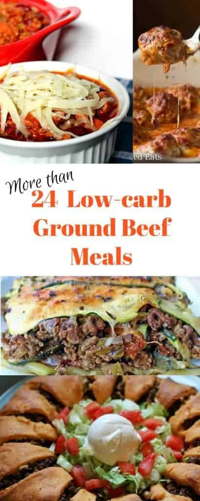 Ground Beef recipes, low-carb, THM S collection by Graceful Abandon