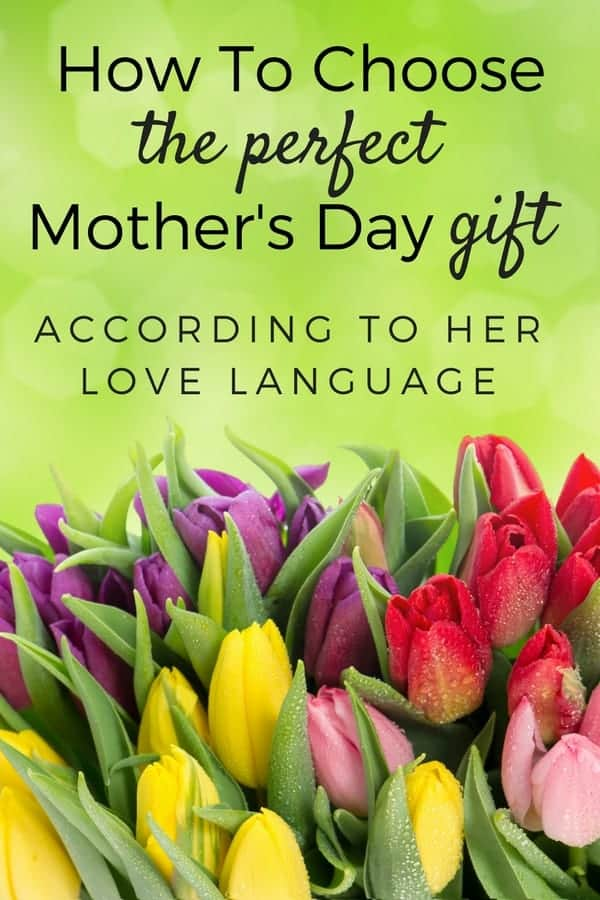 Choosing the perfect Mother's Day gift is hard, but this list of gift ideas for mom makes it easy! Use her love language and pick out a Mother's Day gift that will make her smile with delight. #mothersday #gift #giftsformom