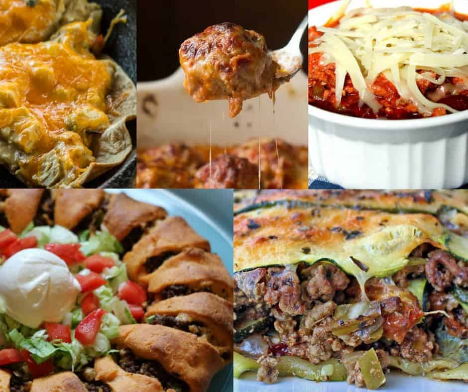 Low-Carb Ground Beef Recipe Collection