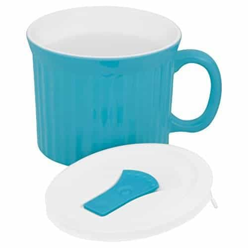 Make a Muffin in a Mug in this, or bake soup or a mini casserole. This CorningWare mug is so versatile, it's a must have for your THM Kitchen.