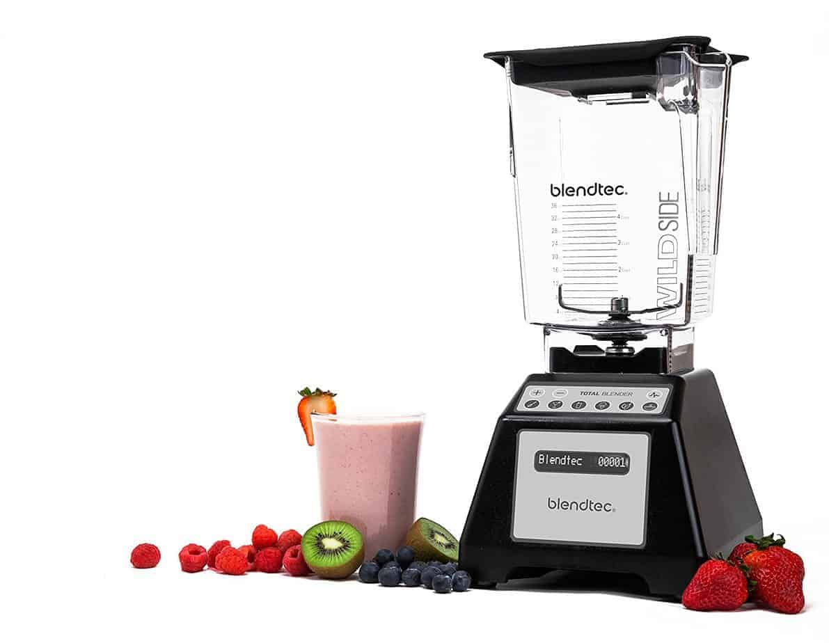 THM Kitchen Tools You Don't Want to Live Without. This BlendTec makes smoothies, ice cream, soups, and more.