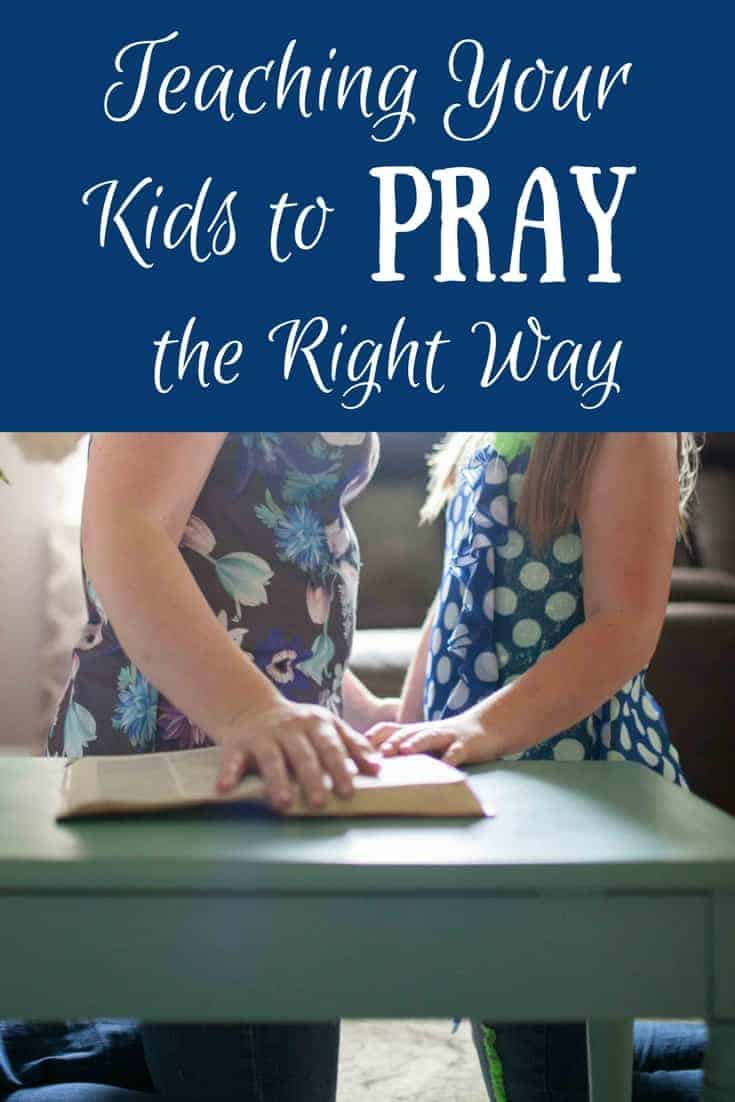 Teaching kids to pray is not for the faint of heart, but you can do