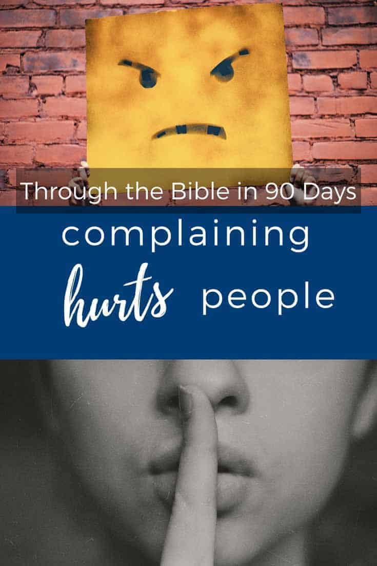 A look at the impact of complaining and what a viable alternative is.