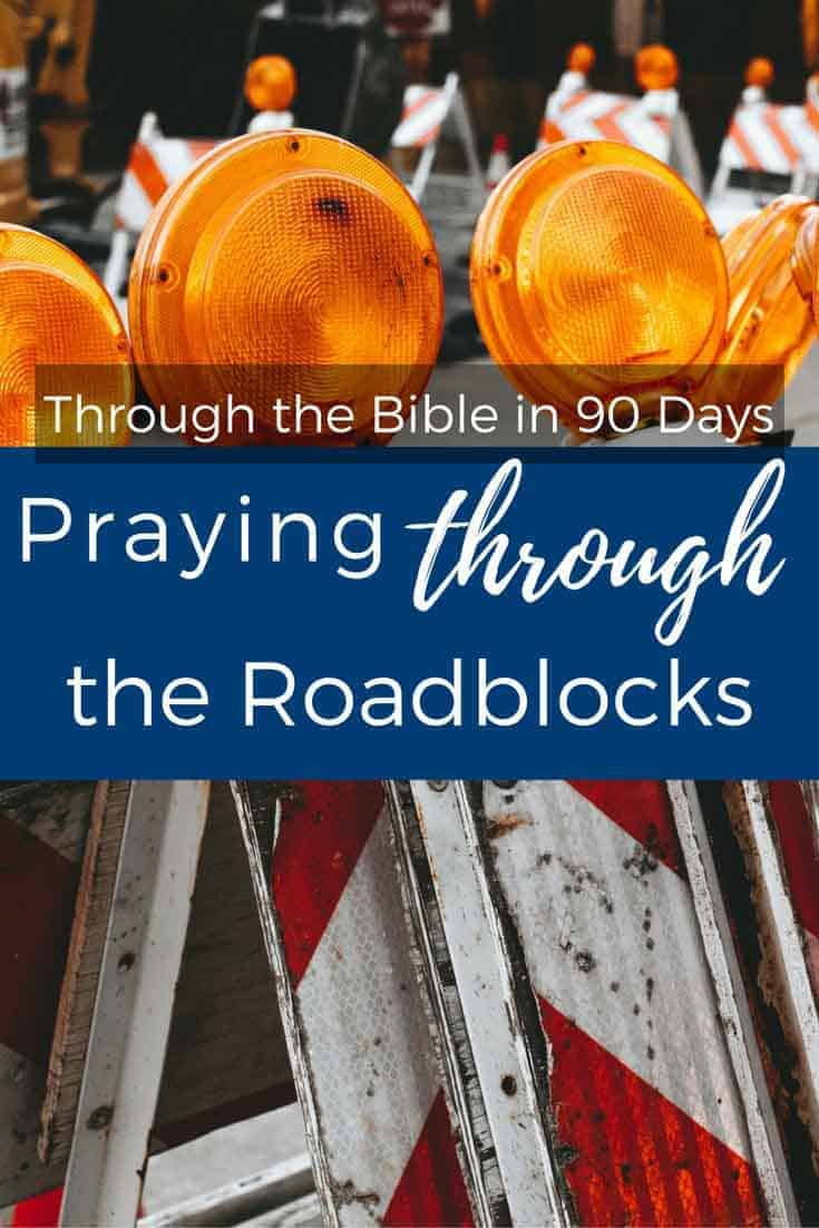 How many times have we heard the admonition to just push through? To pray against resistance and not let Satan win? But what if the roadblock isn't from the enemy of your soul? What if instead, it is from the Lover of your soul?