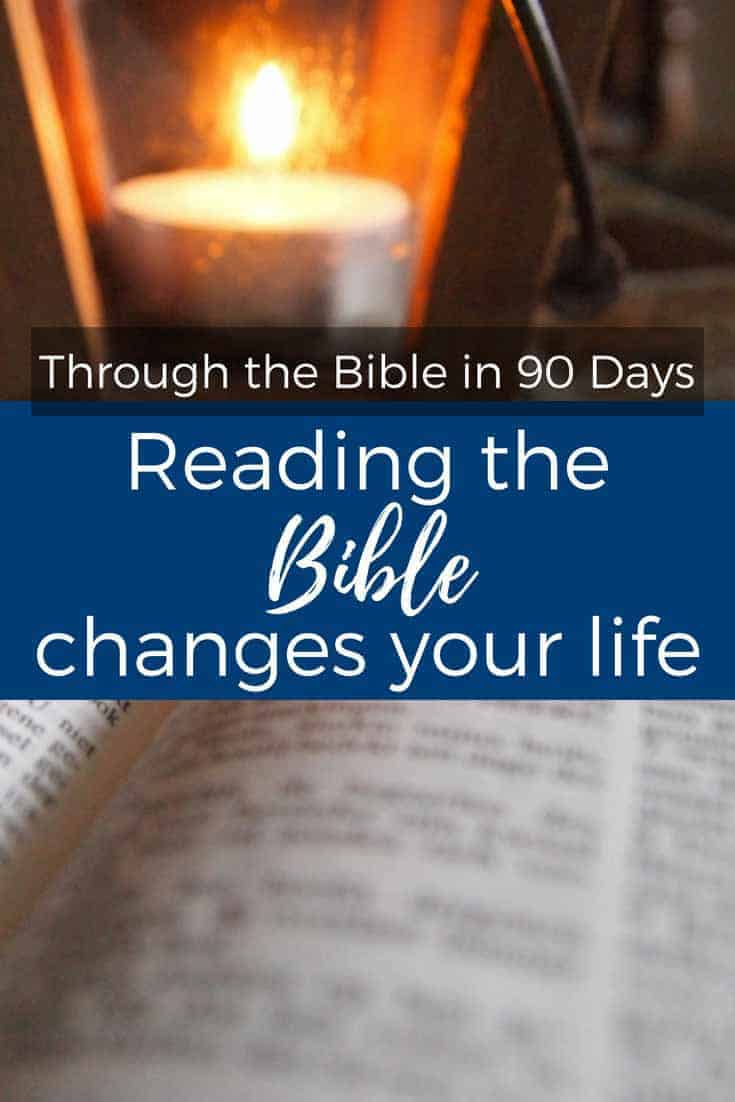 Reading the Bible changes your life. Turn to the Lord with all heart, soul, and strength.