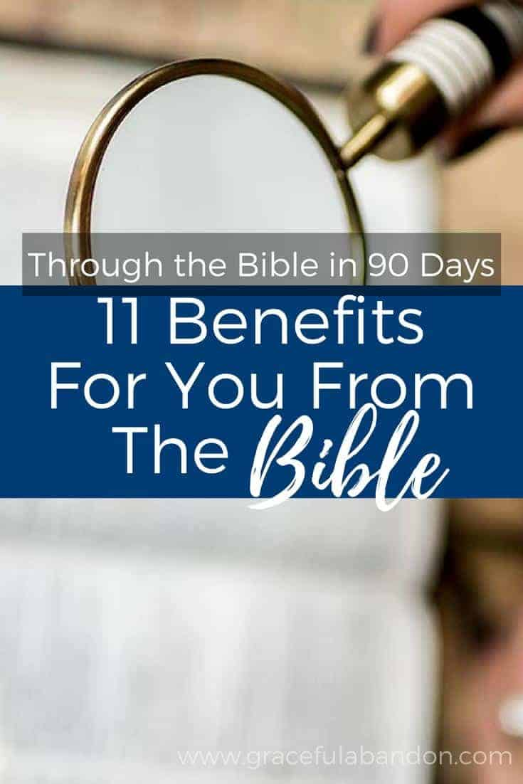 Check out these 11 reasons you need to read the Bible. These benefits to Bible reading will bless you; here are reasons to have quiet time and make devotions a priority. You won't believe all the blessings you get from the Word!