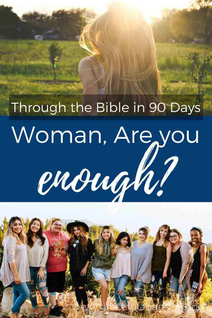 How do you measure up as a woman? Do you feel like you fall short? Let's look at 5 women that God highlights and see how you compare.