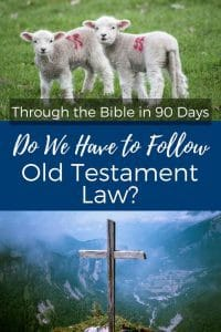 Do we have to follow Old Testament law today? Did God really make anything irrelevant or are we still bound by those laws? What did Jesus have to say about it?