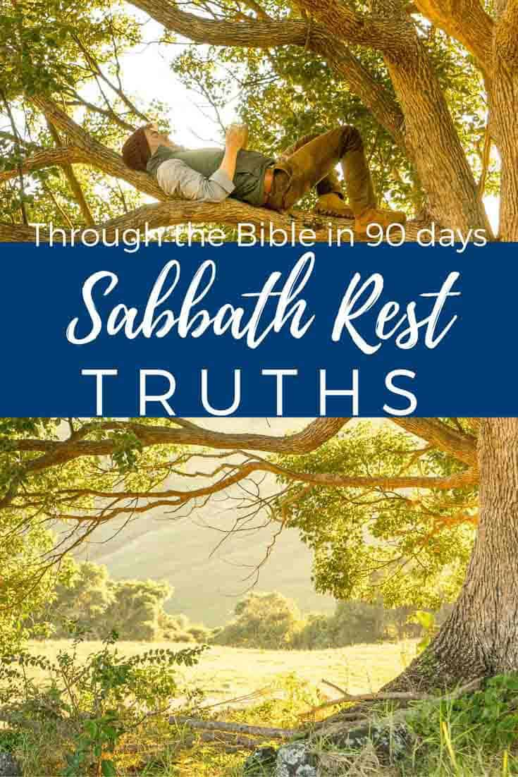 Sabbath Rest Truths discussed here. What does it mean to honor the Sabbath? Do we need to Sabbath rest today? What does the Bible say about Sabbath rest?