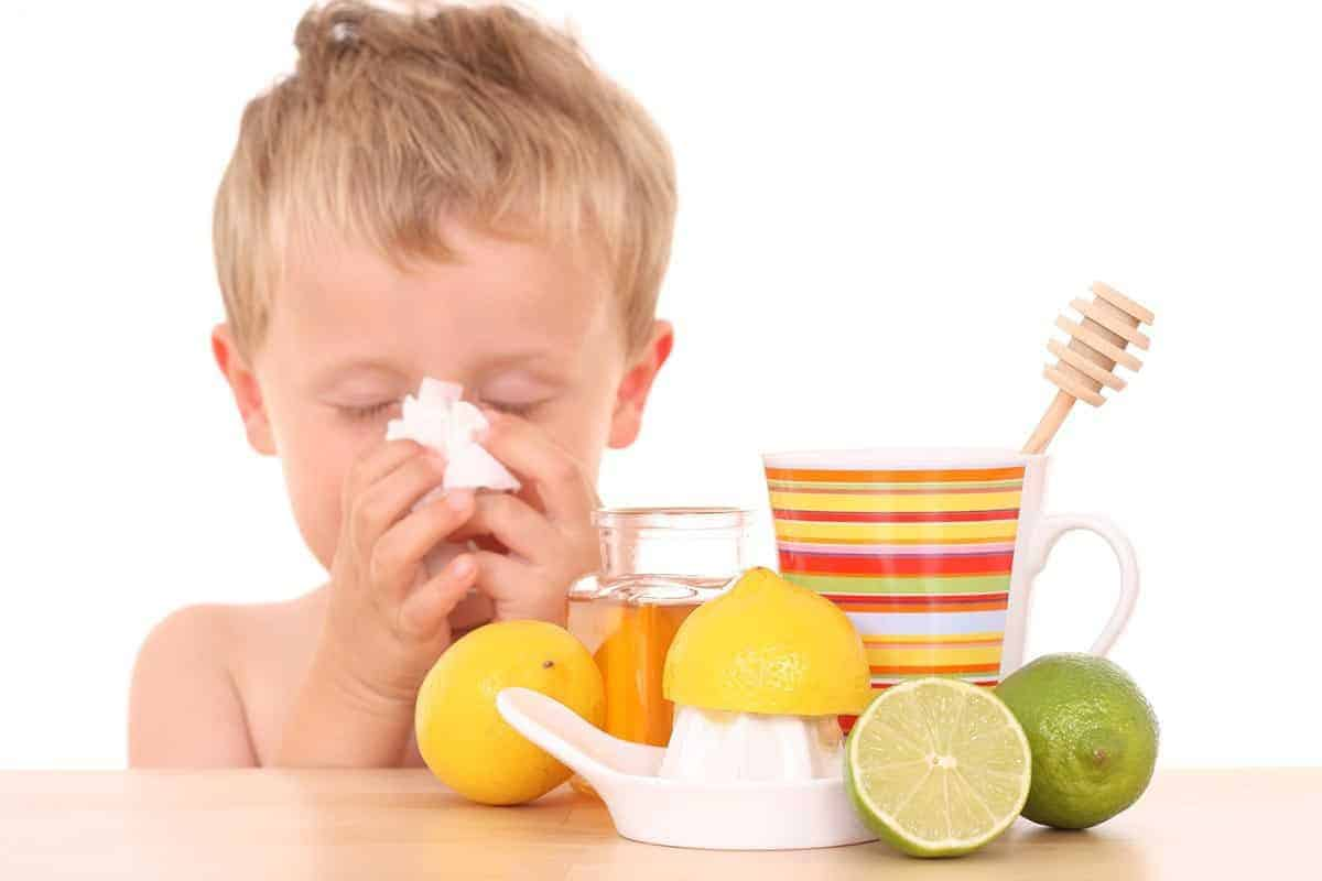 natural cough and cold remedy for children