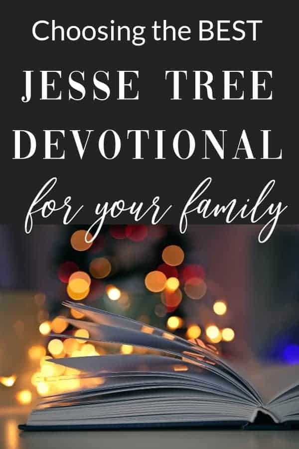 Choosing the best Jesse Tree devotional for your family's Advent can be hard. Here's everything you need to know.