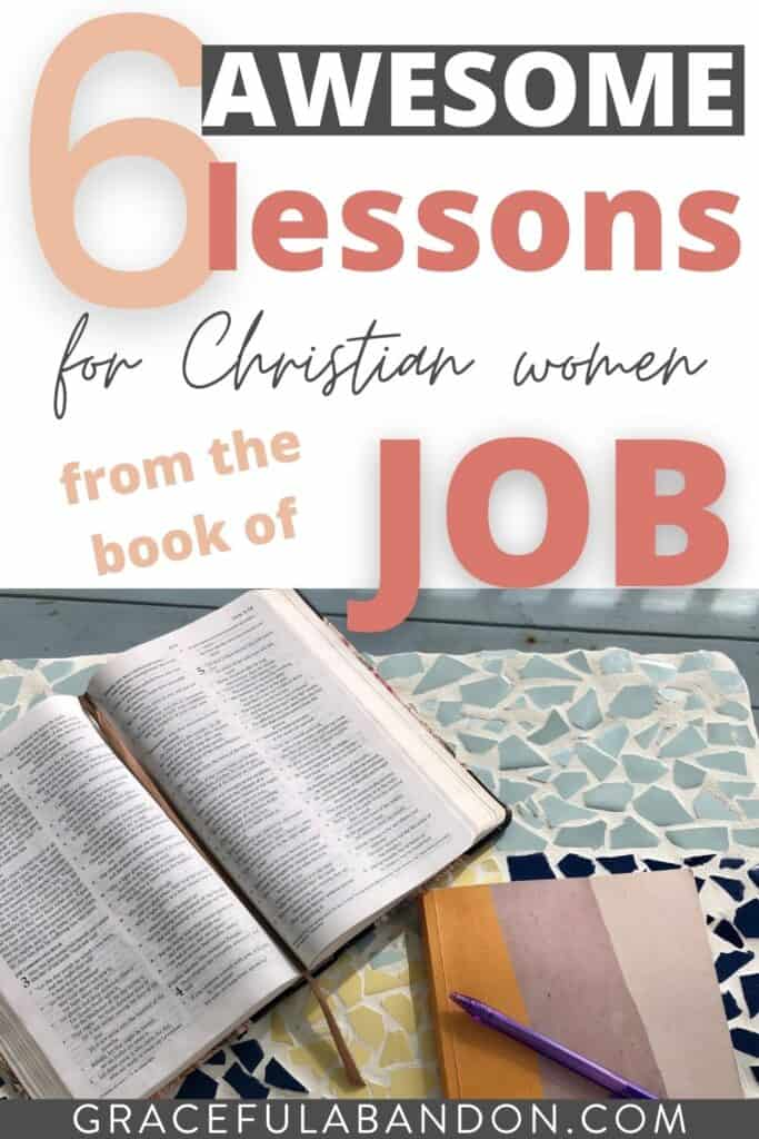 6 Lessons From The Book of Job In The Bible for Christian Women