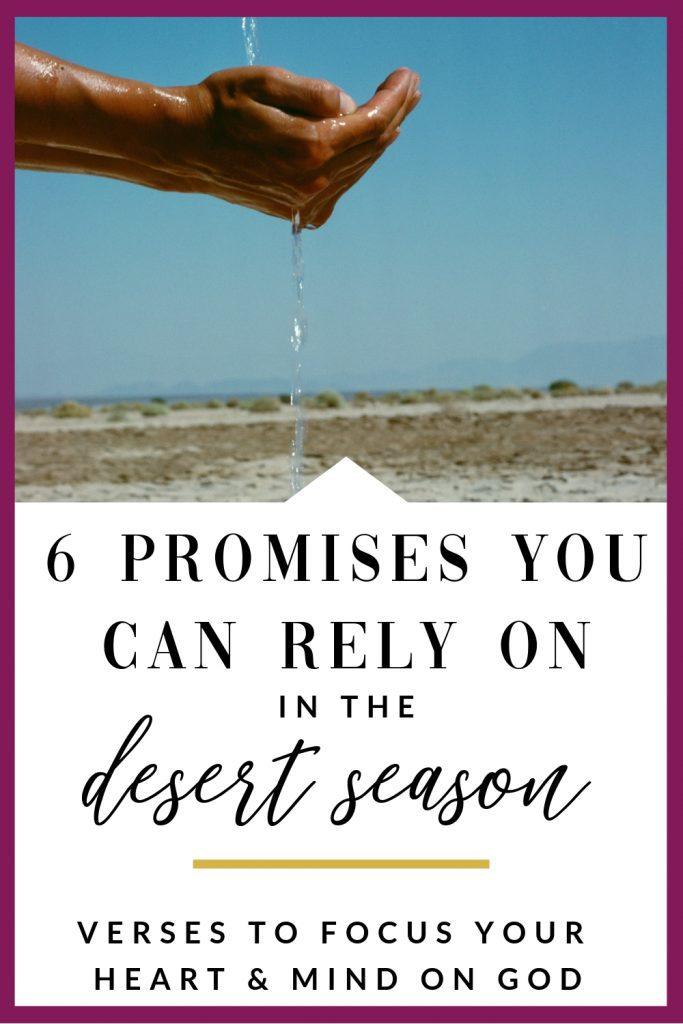 6 promises of God for the desert season
