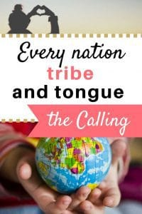 the call to the nations for every Christian