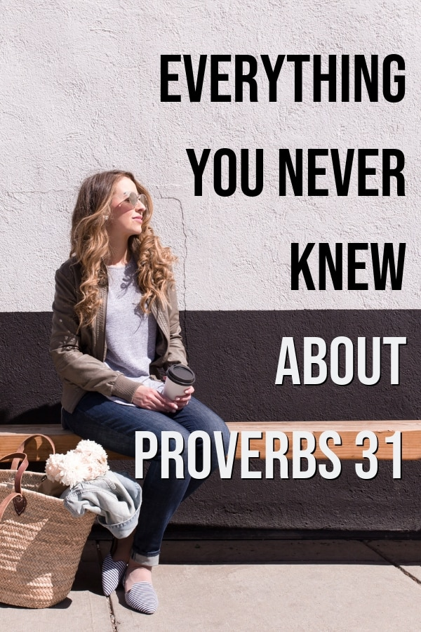 Proverbs 31 Bible study woman discovering what she didn't know