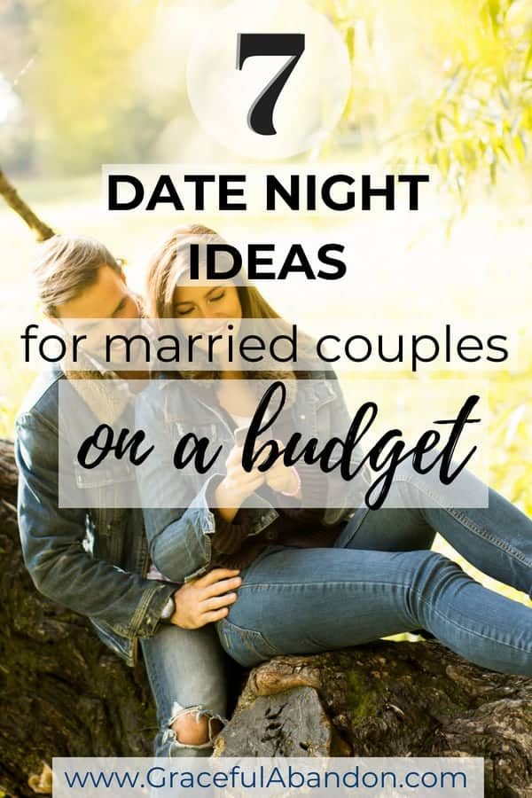Try one of these 7 cheap romantic date night ideas for married couples on a budget.