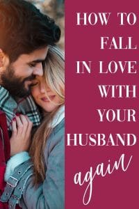 Ever wonder how to fall in love with your husband again? Here are 4 strategies Christian wives can employ to fall in love all over again with the man that they married.