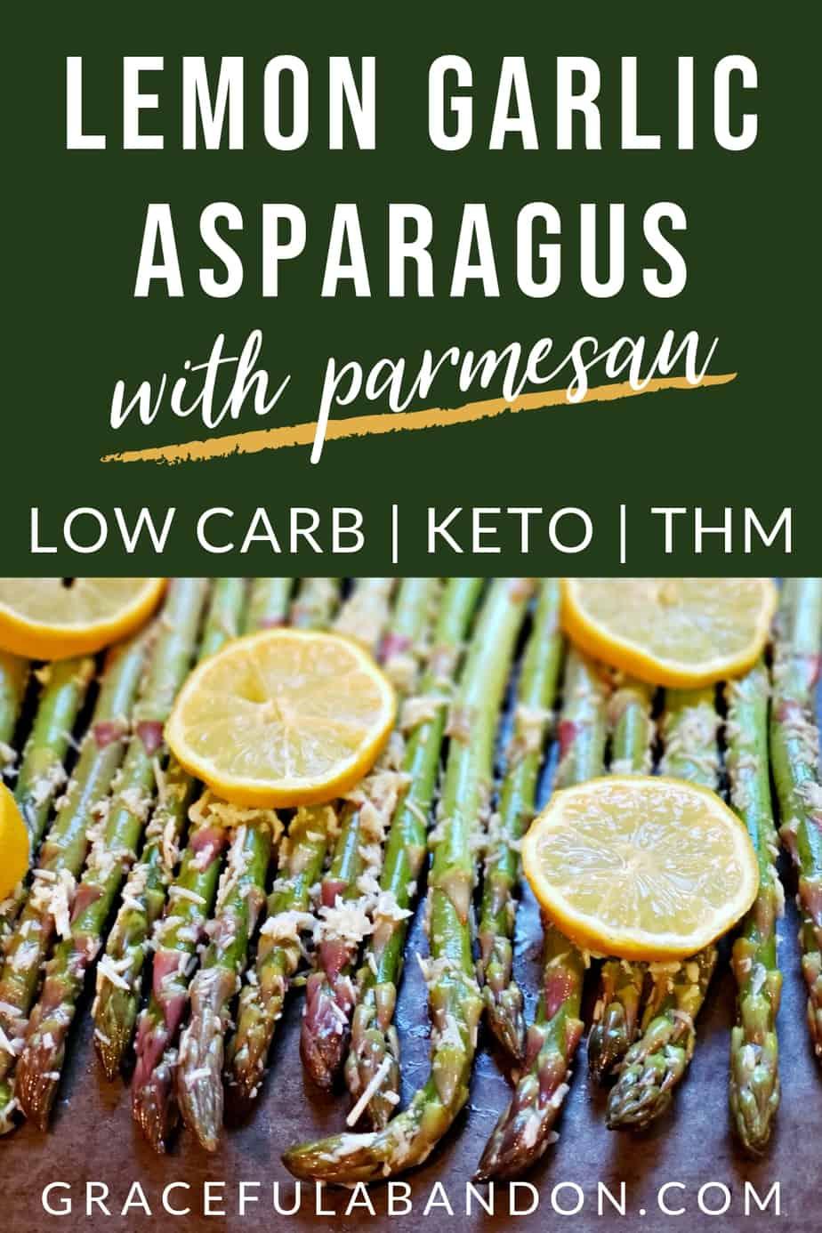 lemon garlic asparagus with parmesan
