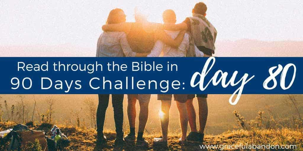 read the bible cover to cover in 90 days