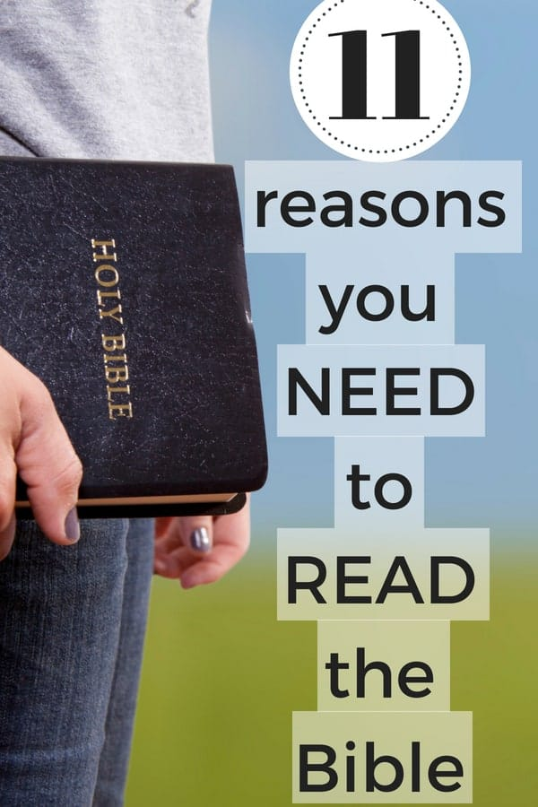 The top tips for Christian living is to read your Bible...but why? Here are 11 reasons to get started reading your Bible regularly today!