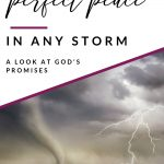 peace in life's storms