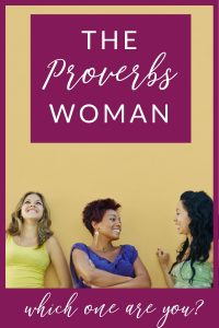 proverbs woman bible study