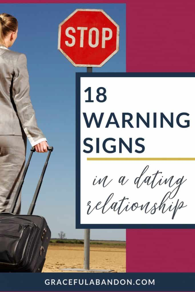 18 warning signs in a christian dating relationship