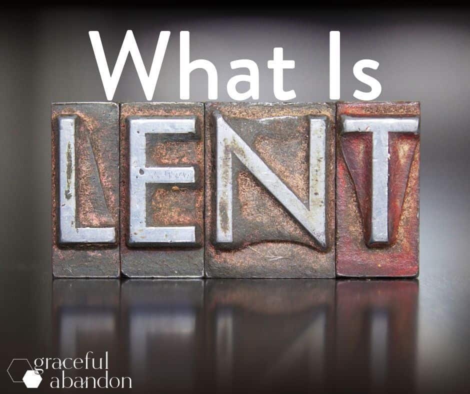 what is Lent? visual question